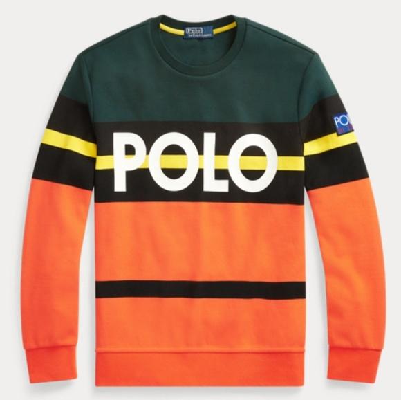 timeless design ebf1b 339fe where can i buy herren ralph lauren sweater rot orange 37341 ...